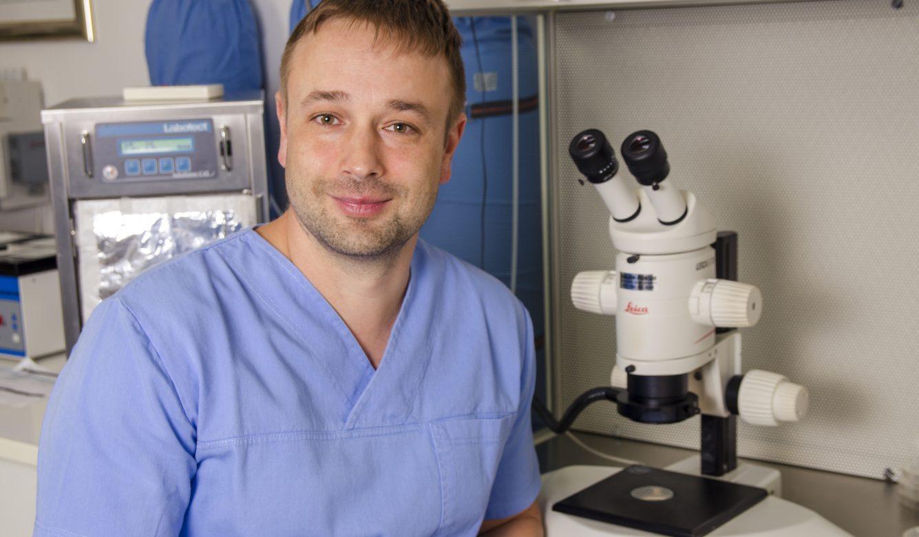 Balyi Balazs, klinički embriolog bolnice Genesis- Moj posao me čini ponosnim